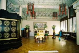 Интерьер храма святого Иннокентия. Пекин