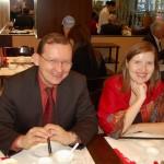 Михаил Дроздов с женой
