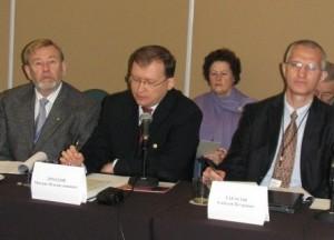 Выступление М. В. Дроздова на конференции