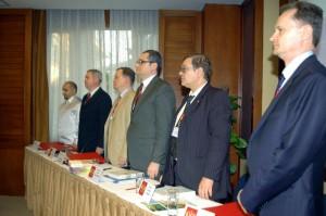 Президиум третьей конференции соотечественников, проживающих в Китае