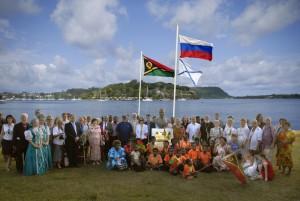 В августе 2009 г. широко праздновалось двухсотлетие первых контактов России и Вануату.