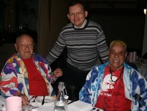 Н. Н. Мишутушкин и А.Пилиоко с Председателем КССК М. В. Дроздовым