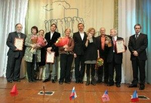 """Лауреаты МКФ """"Русское зарубежье"""" 2009 (Москва)"""