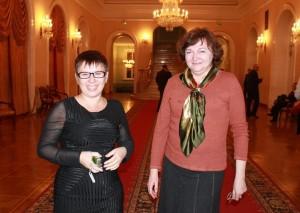 Делегаты Конгресса Н. Старкова и Л. Жебокритская