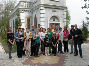 Участники субботника